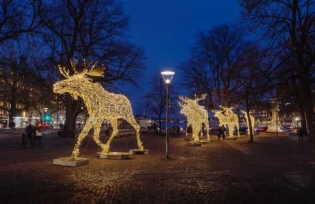 STOCKHOLM 20141204 - Stockholmsjul uppförd av MK IlluminationFoto: MIKAEL SJÖBERG