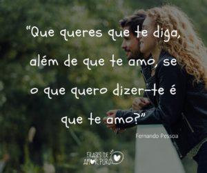 Fernando Pessoa Frases De Amor Puro