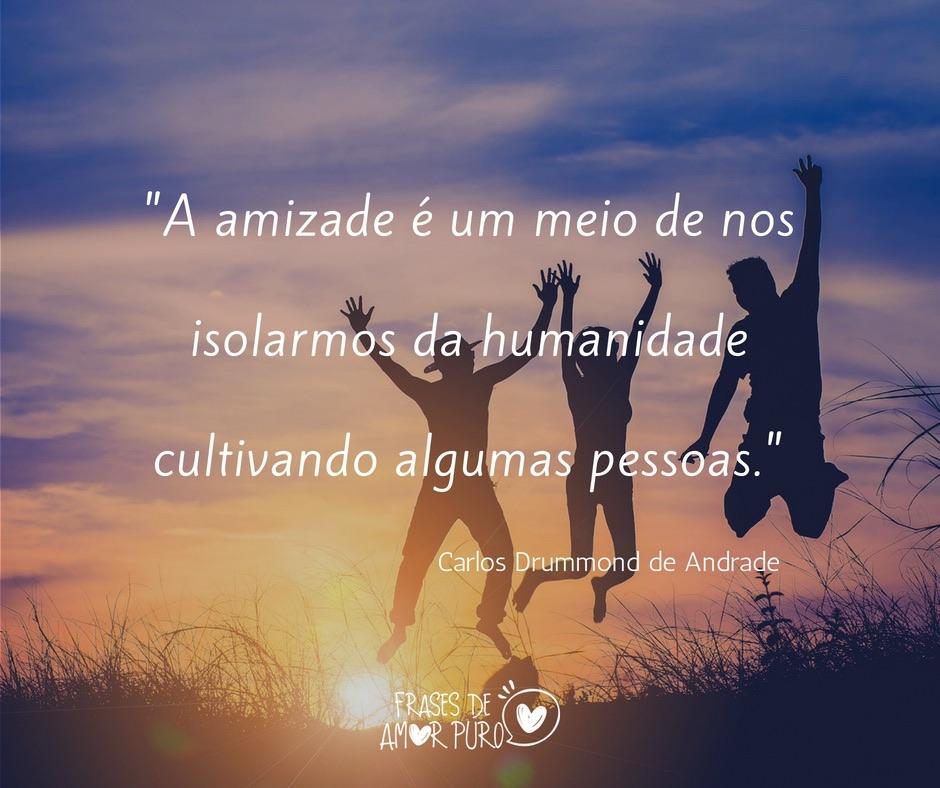A Amizade é Um Meio De Nos Isolarmos Frases De Amor Puro