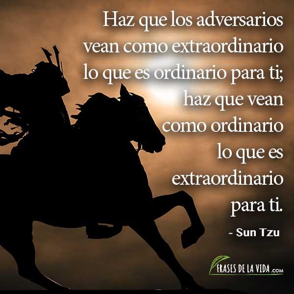 Frases de El arte de la guerra 5, Frases de Sun Tzu