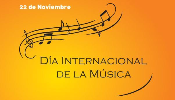 Resultado de imagen de dia de la musica 22 de noviembre