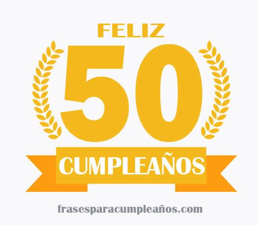 tarjetas de cumpleaños 50 años mujer gratis