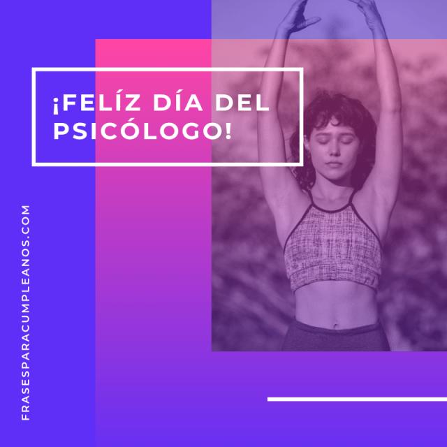 Tarjetas de felicitaciones día del psicólogo