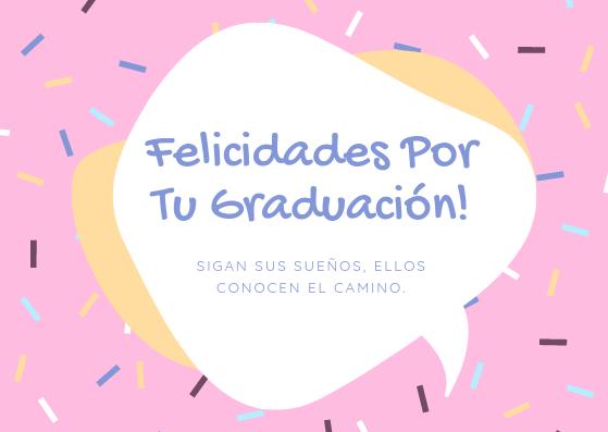 tarjetas de felicitación graduación para facebook