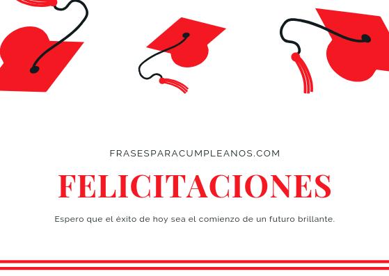 tarjetas de felicitaciones de graduación