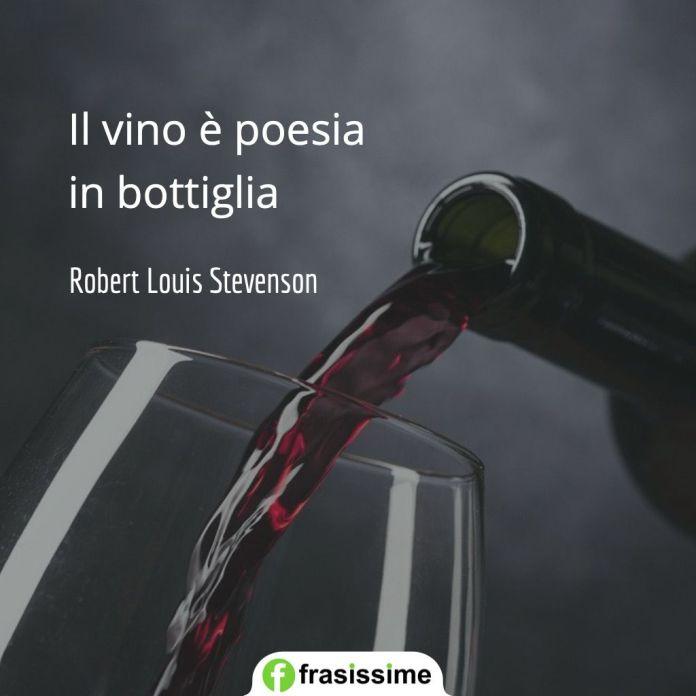 frasi vino poesia bottiglia stevenson