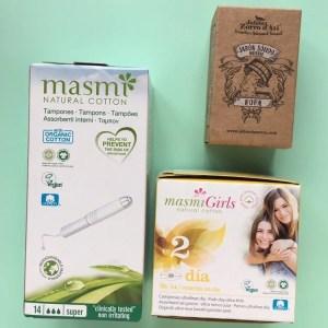 Kits higiene íntima sin plástico Starter