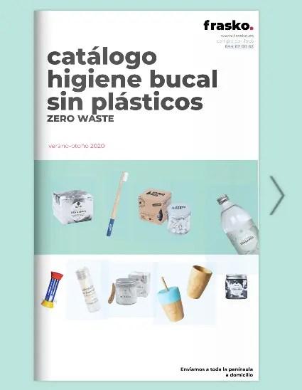 Higiene bucal sin plásticos y natural