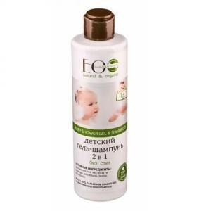 Champú y gel de baño orgánico 2 en 1 para bébés EO LABORATORIE