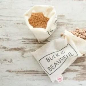 Bolsa de algodón orgánico BULK IS BEAUTIFUL