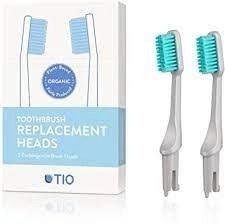 Cepillo bioplástico cabezal intercambiable TIO