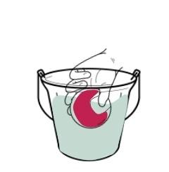Globo de agua reutilizable