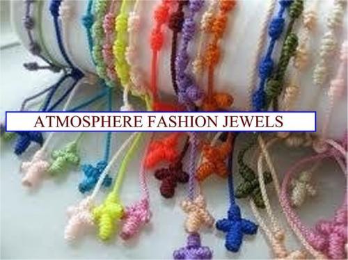 rosario colorato in corda