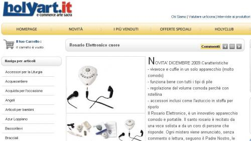 rosario elettronico
