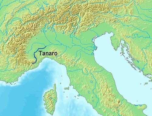 LocationTanaroRiver