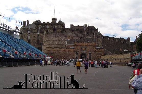 Edimburgo - esplanade di fronte al castello