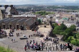 Edimburgo - panorama dal castello