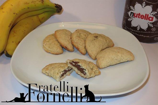 biscotti banane e nutella