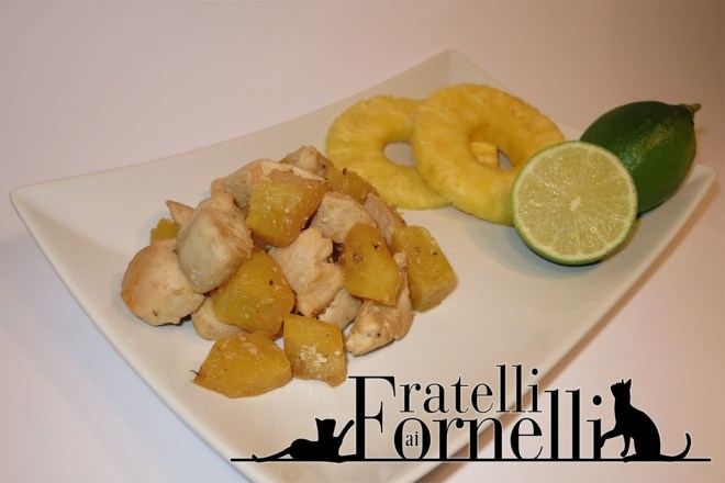 pollo ananas e lime