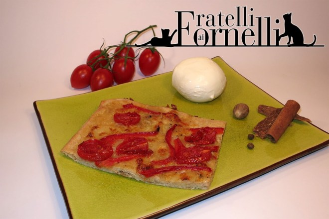 pizza pomodorini peperoni miele