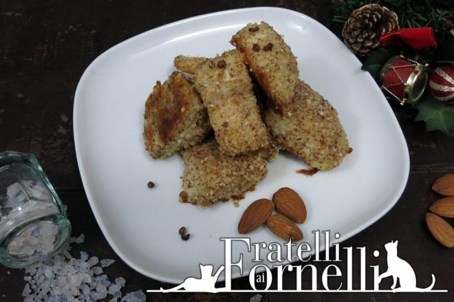 bocconcini di persico in crosta mandorle