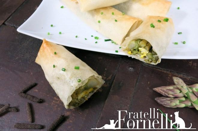asparagus and scrambled eggs