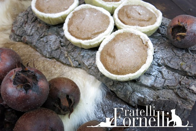 Crostatine rinascimentali nespole medlar tartlets renaissance