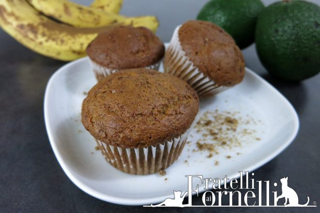 muffins banana avocado