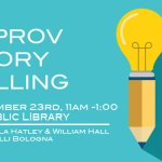 Improv & Storytelling Workshop: Find your inner Storyteller