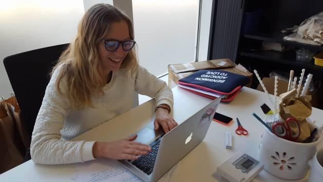 Mathilde, stagiaire en com'