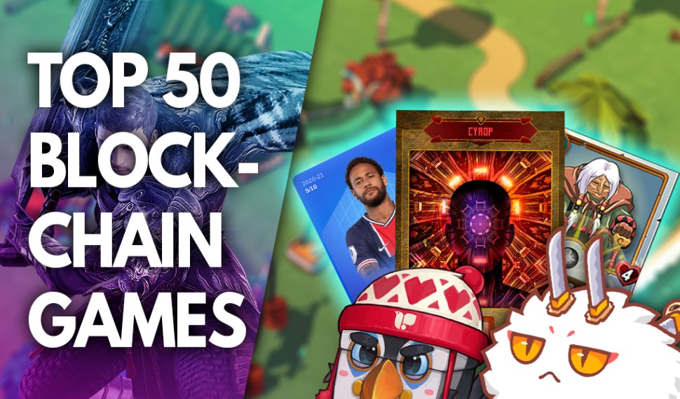 TOP 50 Games Play to Earn com maior potencial!