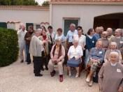 2013 10 06 Les fraternités séculières de la région avec les clarisses de Nieul sur mer (11)