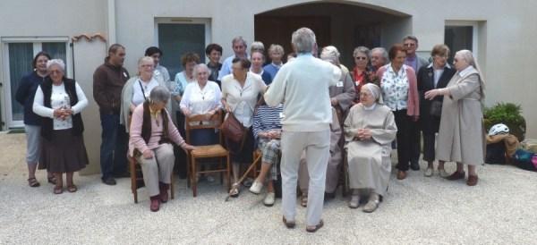 2013 10 06 Les fraternités séculières de la région avec les clarisses de Nieul sur mer (2)