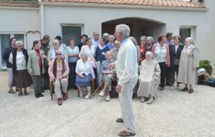 2013 10 06 Les fraternités séculières de la région avec les clarisses de Nieul sur mer (7)