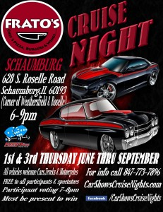 2013 Frato's Cruise Night Flyer!