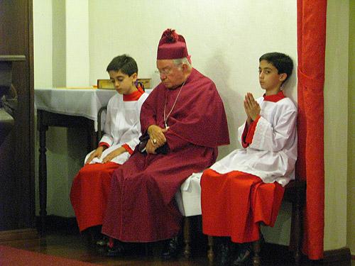 Dom Manoel Pestana Filho - Consagração da Capela Santa Maria das Vitórias