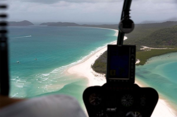 Whitehaven Beach Great Barrier Reef Ohne Worte Fratuschi