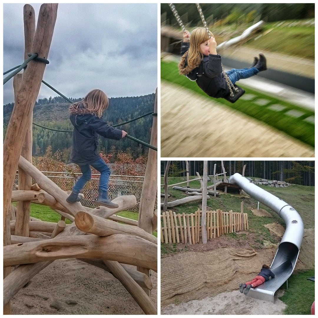Spielplatz Collage