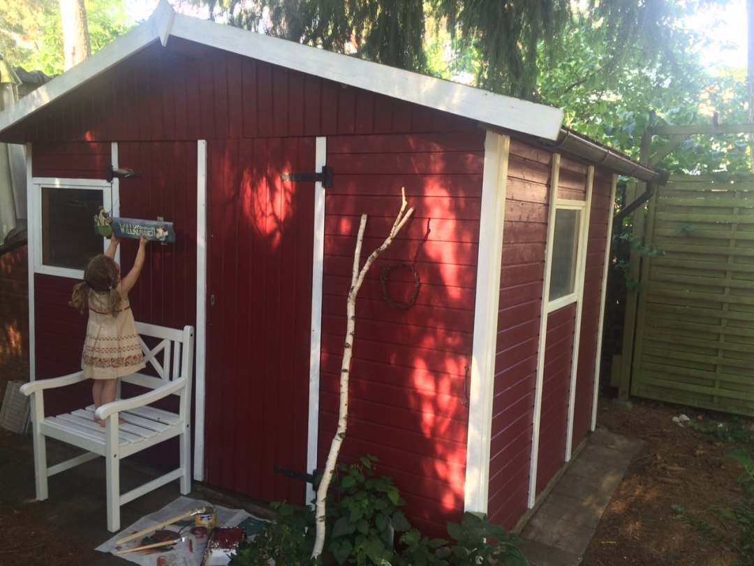 Diy Gartenhaus Im Schwedenlook So Einfach Und So Schön