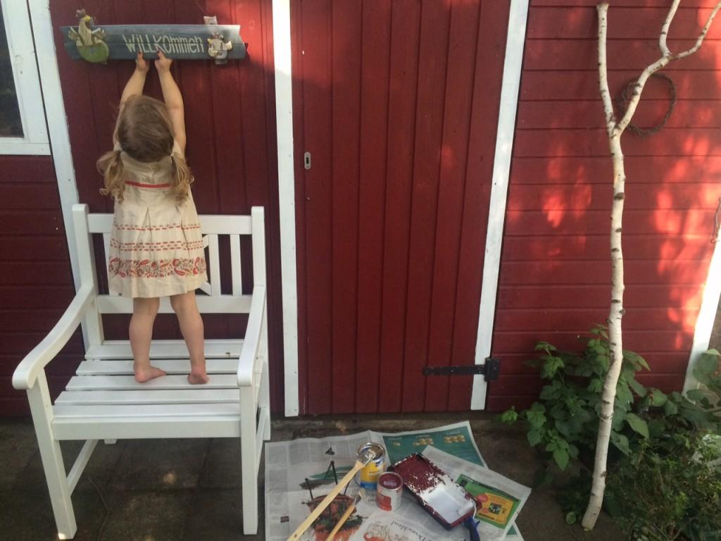 Diy gartenhaus im schwedenlook so einfach und so sch n - Gartenhaus im schwedenstil ...
