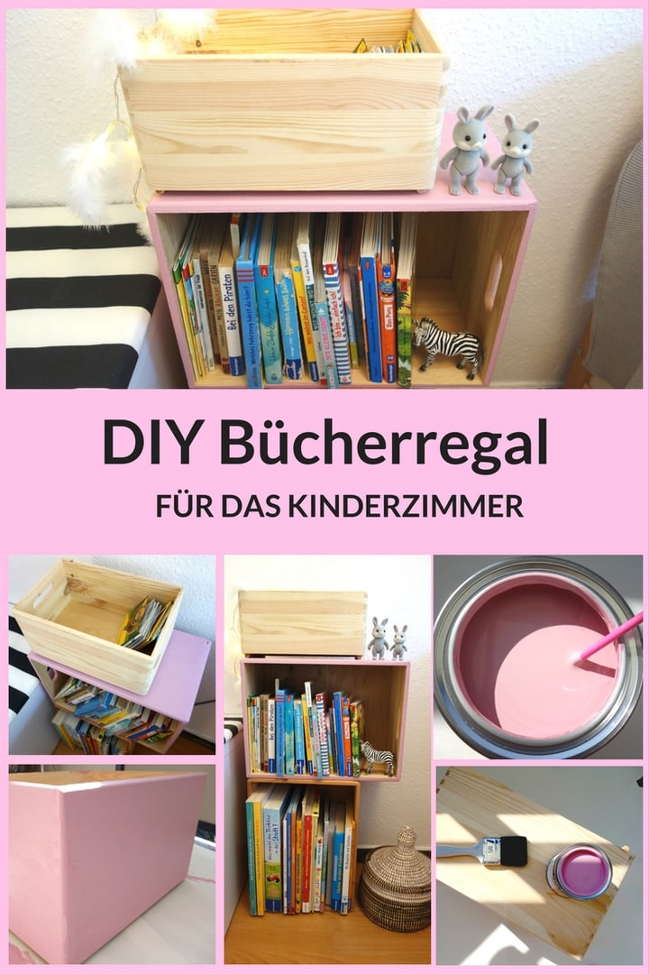 Diy Bucherregal Fur Das Kinderzimmer