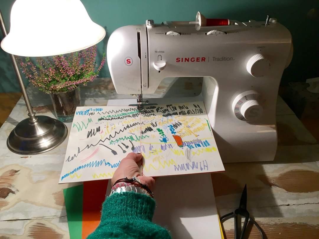 Last Minute Geschenk: DIY selbst gemachtes Notizbuch