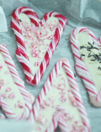 Candy Cane Hearts auf dem Blog Frau Piepenkoetter
