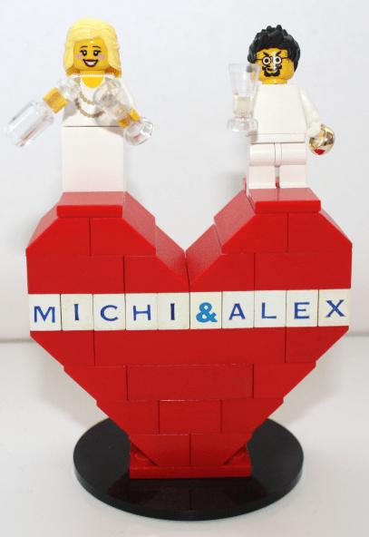 Lego Herz Hochzeit