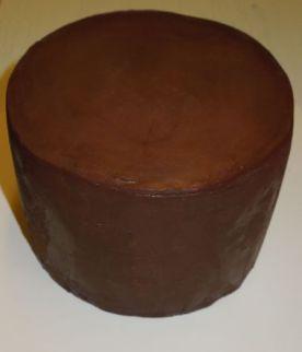 Torte mit Ganacheüberzug klein