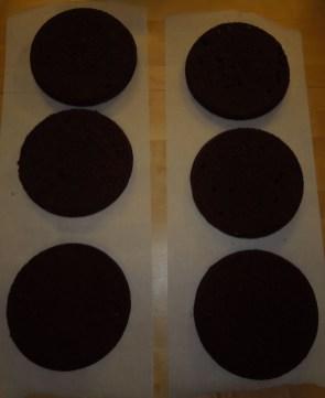 Tortenböden Brownie