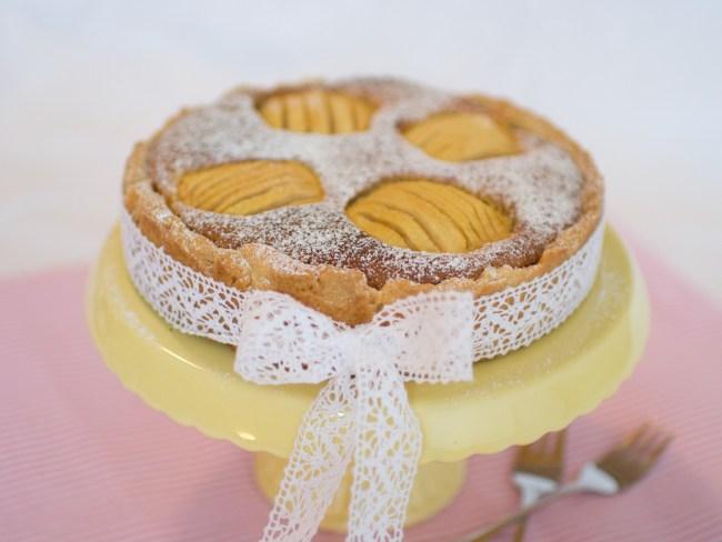 Versunkener Apfelkuchen, Apple pie, Apfel Kuchen