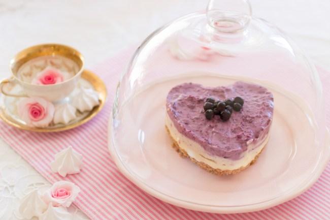 Blaubeer Torte, Blueberry Cheesecake
