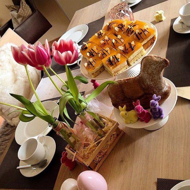 Aprikosenkuchen, Bienenkuchen