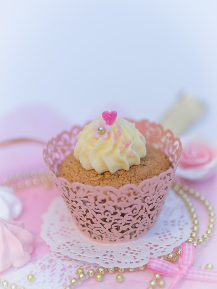 Lockere fluffige Cupcakes mit Eierlikör, Eierlikör Cupcakes, Cupcakes Rezept